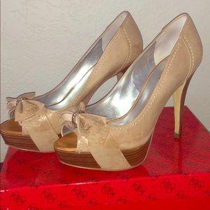 Guess beige Chappel Shoes